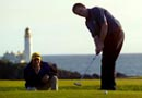 golf at Turnberry, Scotland