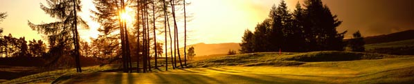Scottish golf landscape