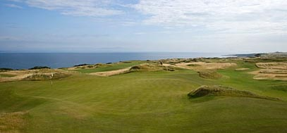 The Castle course in St Andrews - image courtesy of St Andrews Links Trust