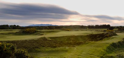 Glasgow Gailes golf course, west of Scotland