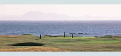 Kilspindie golf course, East Lothian