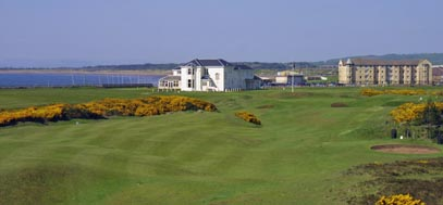 Prestwick St Nicholas golf course on the west of Scotland