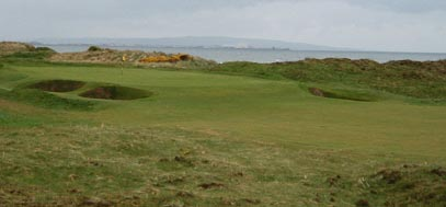 Western Gailes golf course, on the west of Scotland