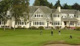 The clubhouse at the Blairgowrie Golf Club